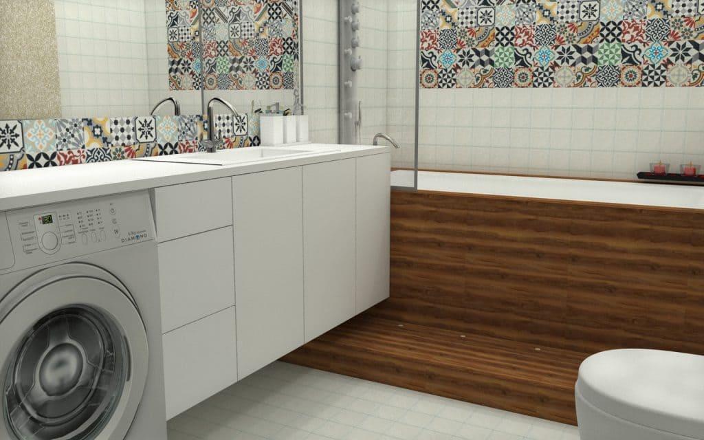 Projekt łazienki. CM Plus.